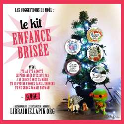 Le kit badges ou magnets enfance brisée