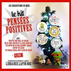 le kit badges ou magnets pensées positives
