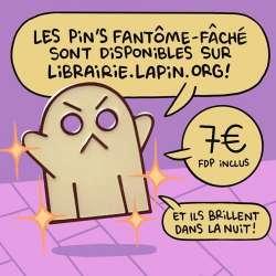Pins Fantôme Fâché