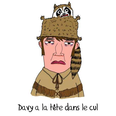Sebh, tableau Davy Crockett