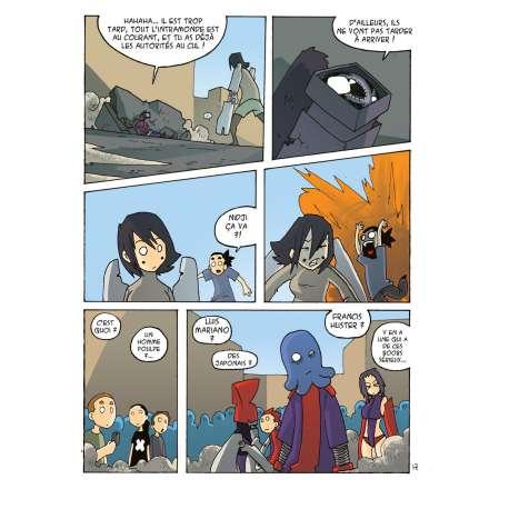 Tableau de Paka, page 17, planche extraite de mecha no ude