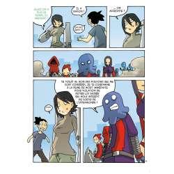 Paka, page 19, planche extraite de mecha no ude