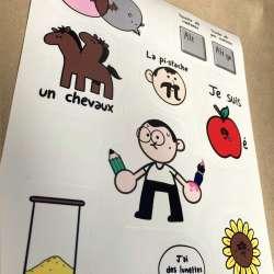 Les stickers Petit Pied