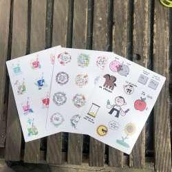 Stickers à gogo
