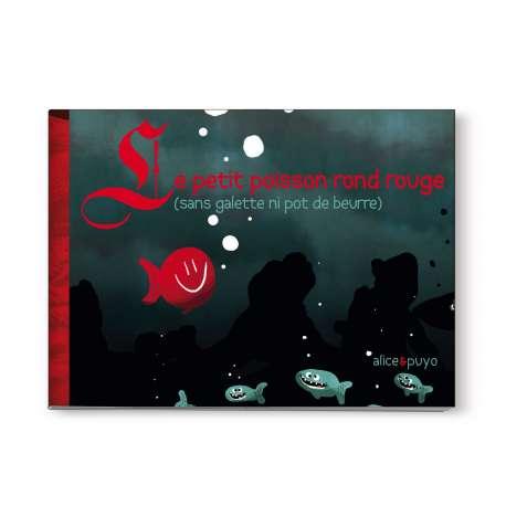Le Petit Poisson Rond rouge - Version souple
